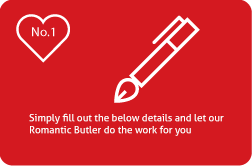 The Romantic Butler - Step 1