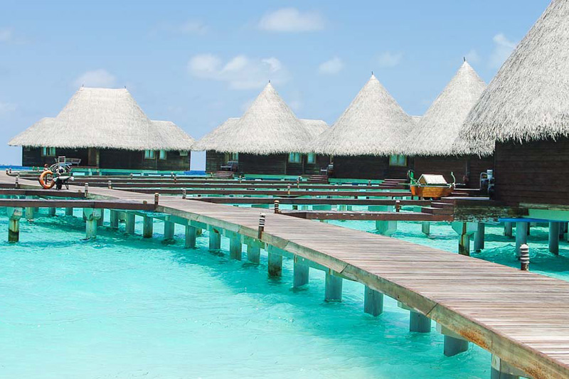 Over-water bungalows | The Romantic Tourist