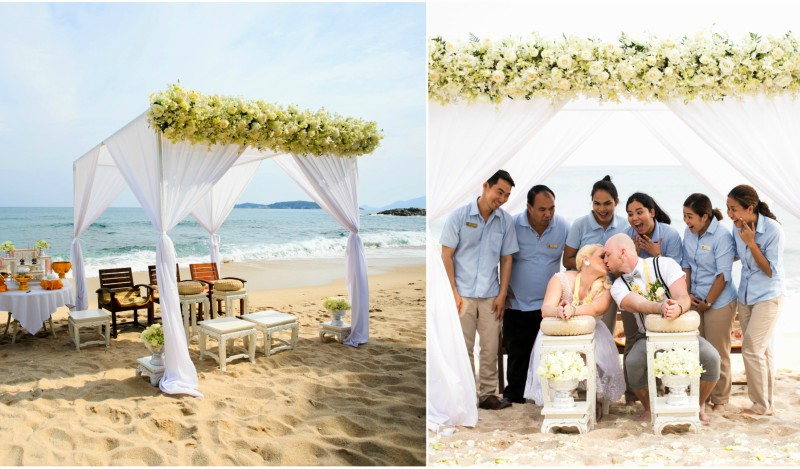 Traditional Thai Beach Wedding